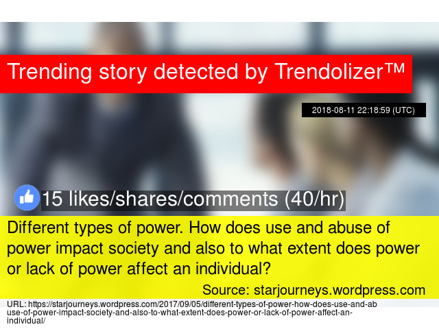 types of power in society